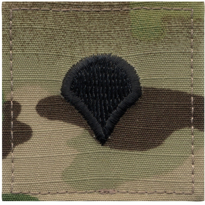 Multicam Camouflage - Military Spec-4 Insignia Patch SPEC