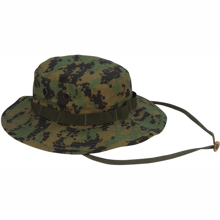 Digital Woodland Camouflage - Military Boonie Hat