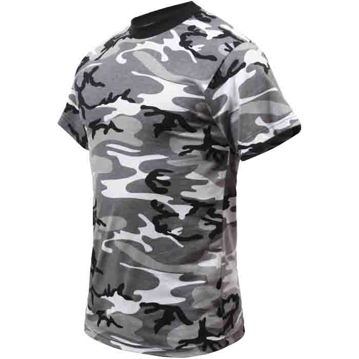 City Camouflage - Kids Military T-Shirt