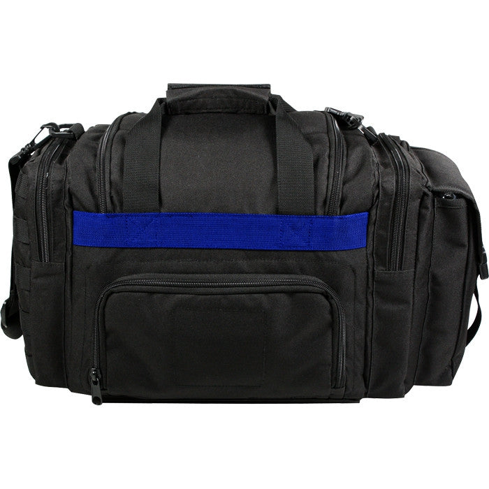 Black - Tactical Police Emergency Concealed Carry Bag with Thin Blue Line