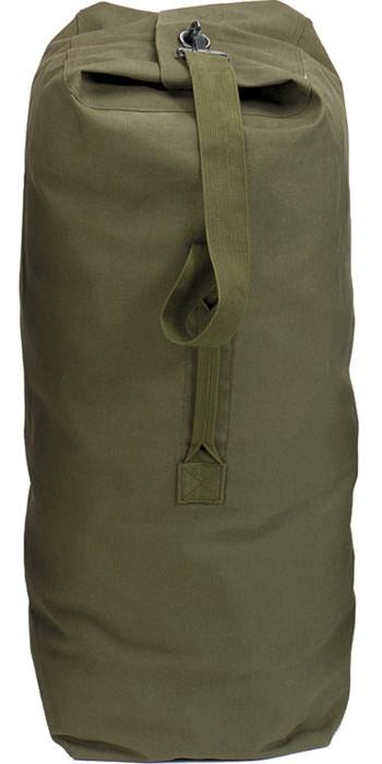 Olive Drab - Military Large Top Load Duffle Bag - Cotton Canvas ... a5208328ada