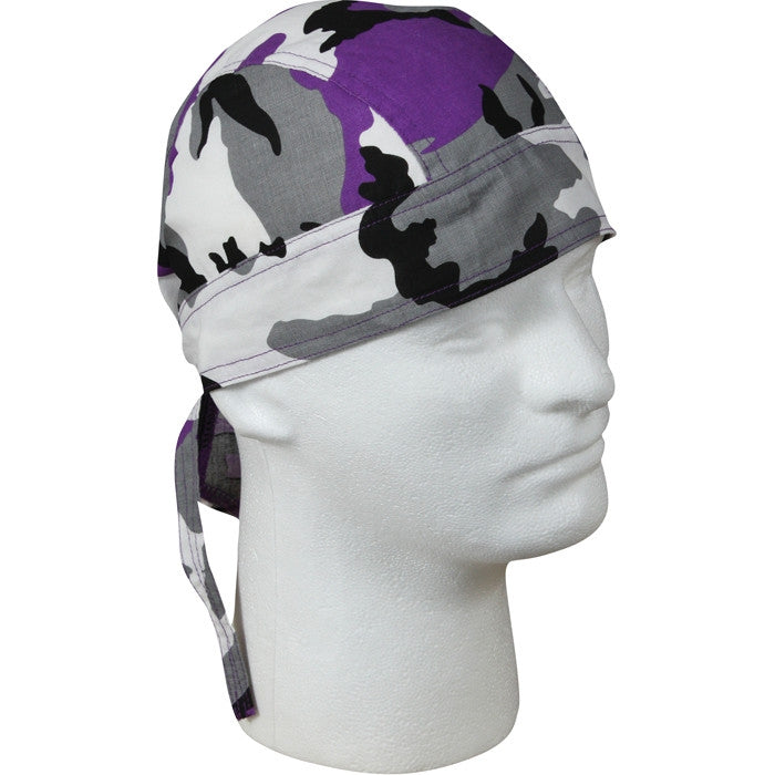 Ultra Violet Camouflage - Military Headwrap