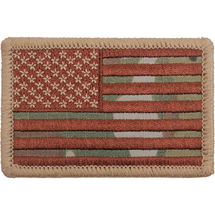 Multicam - US Flag Sew On Patch