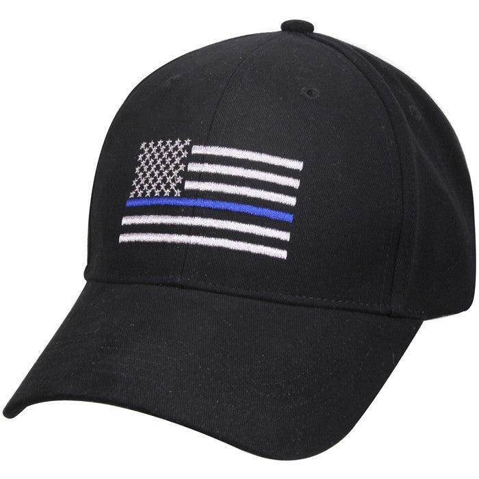 Support the Police Blue Line Flag Adjustable Low Profile Cap