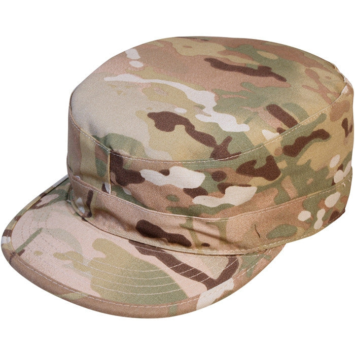 Multicam Camouflage - Military Rangers Fatigue Cap with Map Pocket