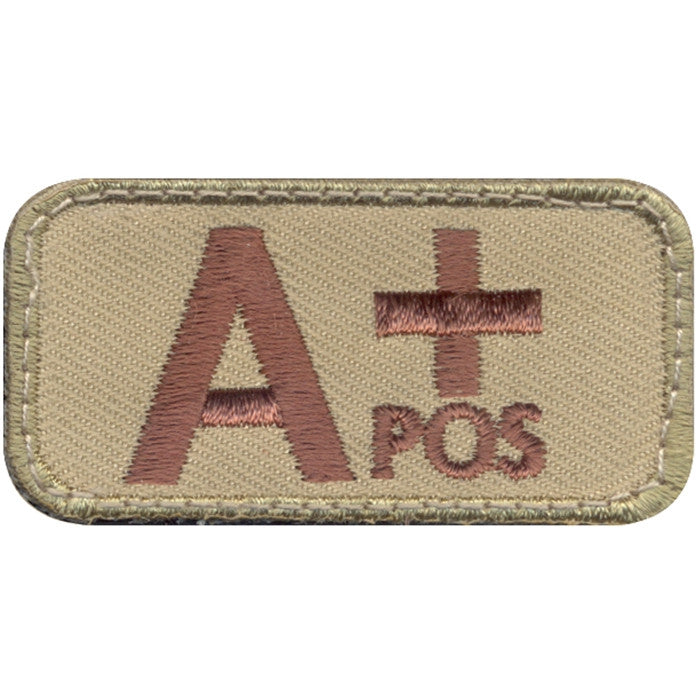 A Positive Blood Type Morale Patch