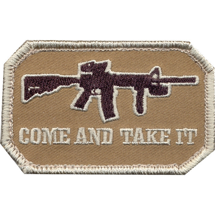 Come And Take It Patch with Hook Back