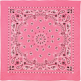Pink - Trainmen Bandana 22 in. x 22 in.