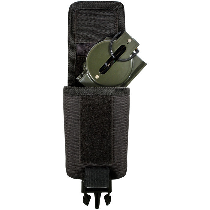 Black - MOLLE GPS Compass Pouch