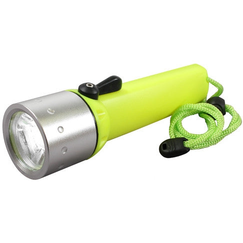 Yellow - Tactical Diving Marine Flashlight