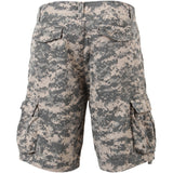 ACU Digital Camouflage - Vintage Military Infantry Utility Shorts