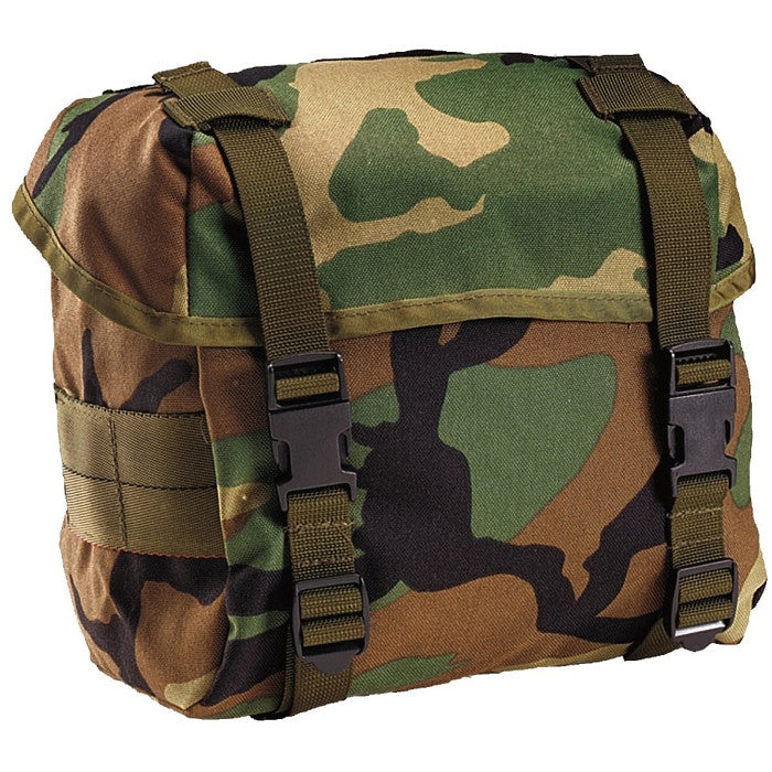 Woodland Camouflage - Military GI Enhanced Butt Pack