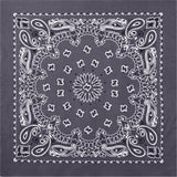 Grey - Trainmen Jumbo Bandana 27 in. x 27 in.