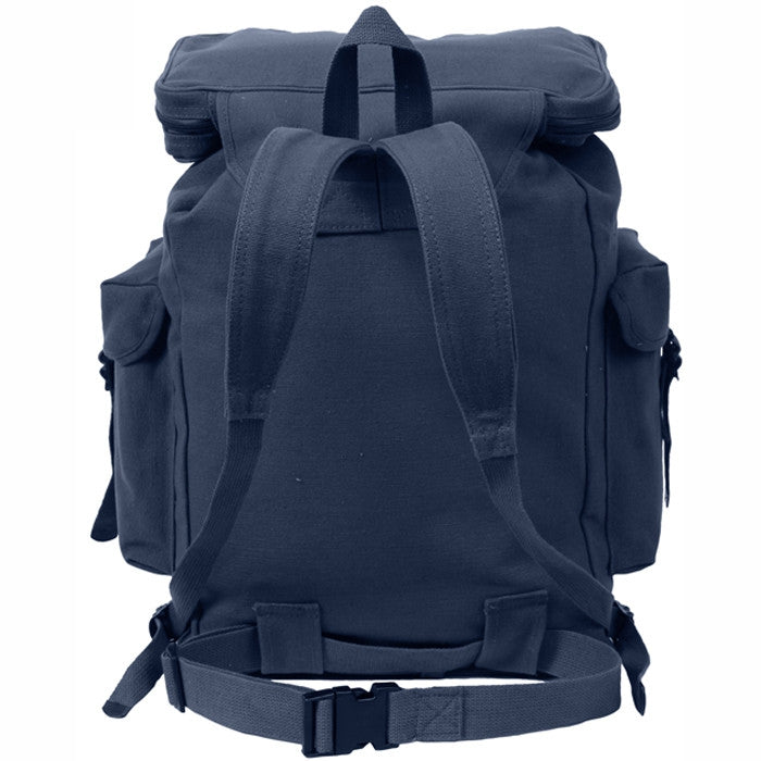 Navy Blue - European Style Rucksack Backpack
