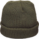 Olive Drab - Military Watch Cap - Acrylic USA Made