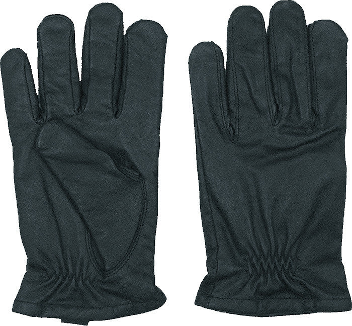 Black - Law Enforcement Cut Resistant Gloves - Leather