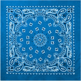 Royal Blue - Trainmen Jumbo Bandana 27 in. x 27 in.