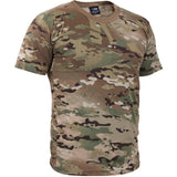 Multicam Camouflage - Military T-Shirt