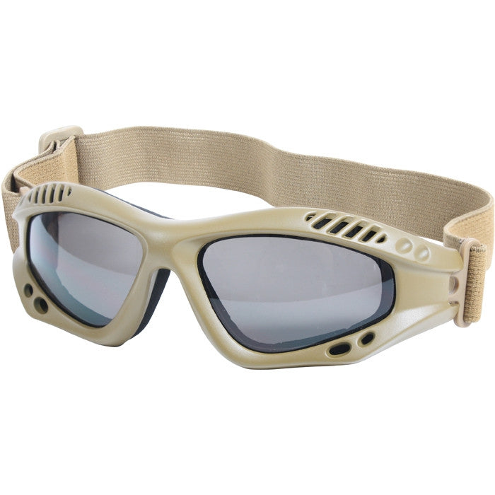 Coyote Brown - VanTec Anti-Scratch Tactical Goggles