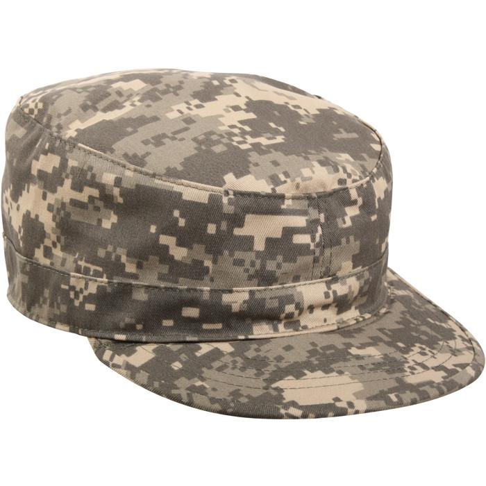 ACU Digital Camouflage - Adjustable Military Fatigue Cap - Polyester Cotton