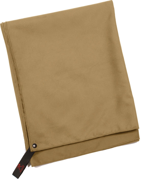 Coyote Brown - Multi-Purpose Microfiber Fast Drying Towel