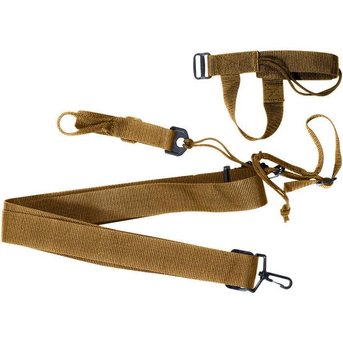 Coyote Brown - Military Style 3-Point Rifle Sling