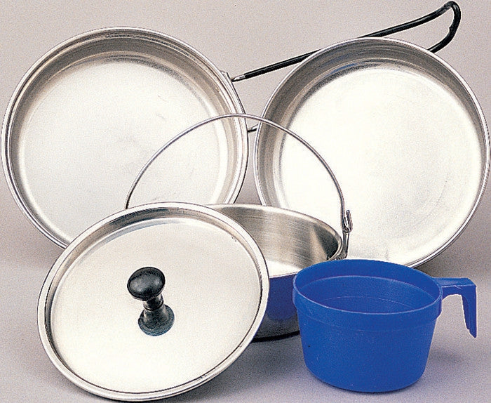 Military GI Style 5 Piece Mess Kit