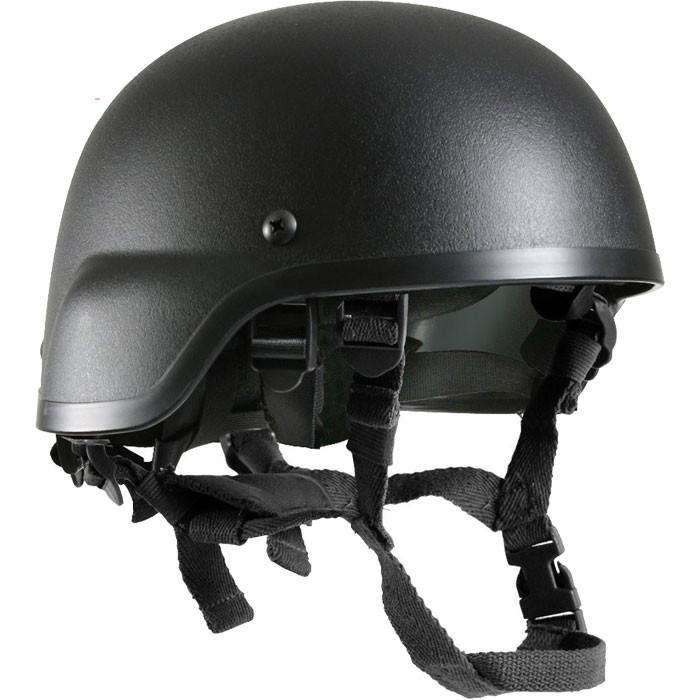 Black - Tactical MICH-2000 ABS Helmet Chin Strap