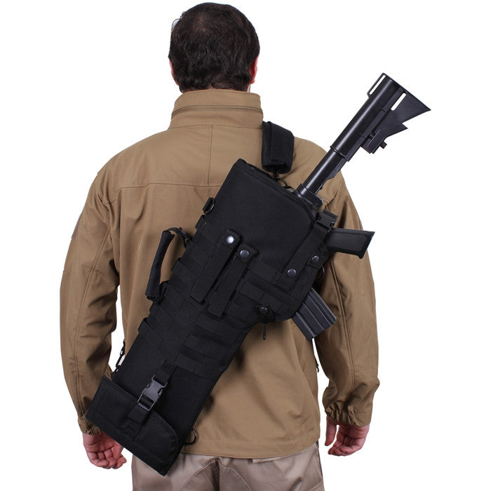 Black - Tactical Rifle Scabbard