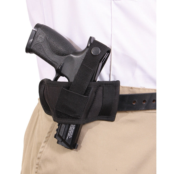Black - Compact Belt Slide Holster