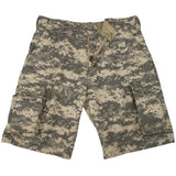 ACU Digital Camouflage - Military Vintage Paratrooper Cargo Shorts