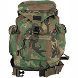 Woodland Camouflage - Outdoorsman Rucksack Backpack