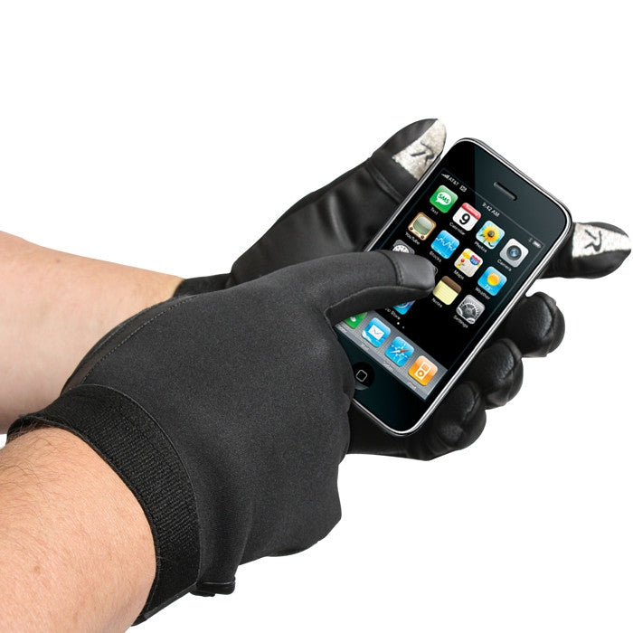 Black - Cold Weather Neoprene Touch Screen Duty Gloves