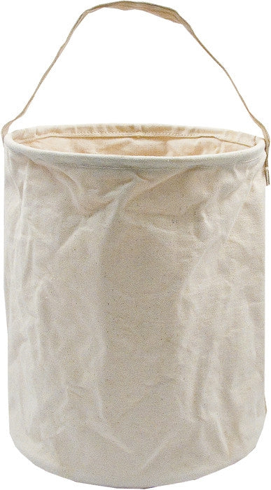 Khaki - Natural Canvas Water Bucket 10 in. x 9 in.