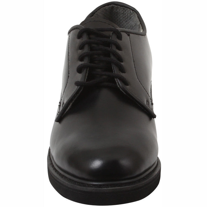 Black - Soft Sole Military Uniform Oxford Shoes - Army Navy Store 247194517c5