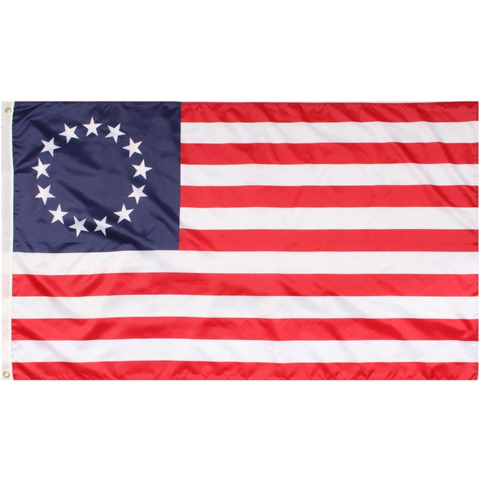 Red   White   Blue - United States Colonial Flag - 3' X 5'