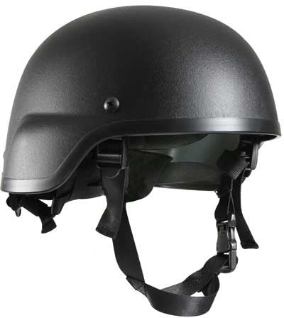 Black - Tactical MICH-2000 Replica ABS Helmet