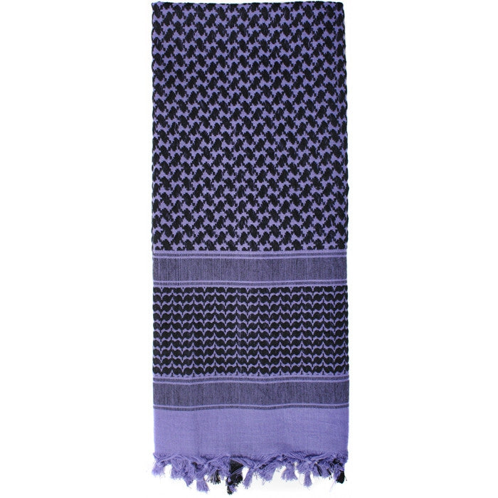 Purple - Lightweight Tactical Desert Shemagh Scarf