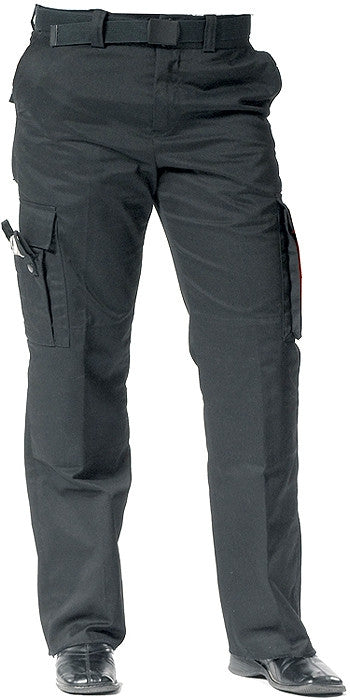 Black - Womens 9 Pocket EMT Pants - Polyester Cotton