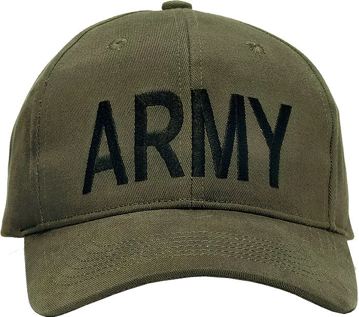 Olive Drab - ARMY Adjustable Cap