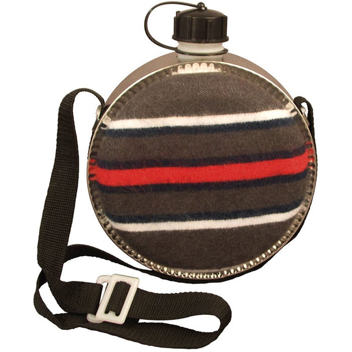 Blanket Covered - Military GI Style 2 Quart Desert Canteen