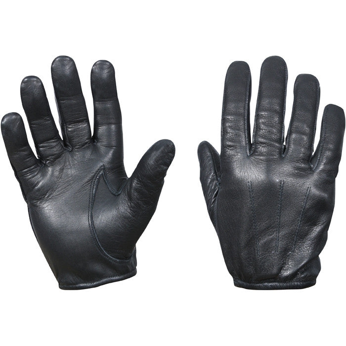 Black - Police Style Fire and Cut Resistant Tactical Gloves