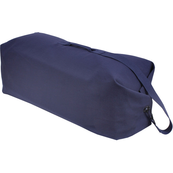 Navy Blue - Military Large Top Load Duffle Bag 25 in. x 42 in. - Cotton Canvas