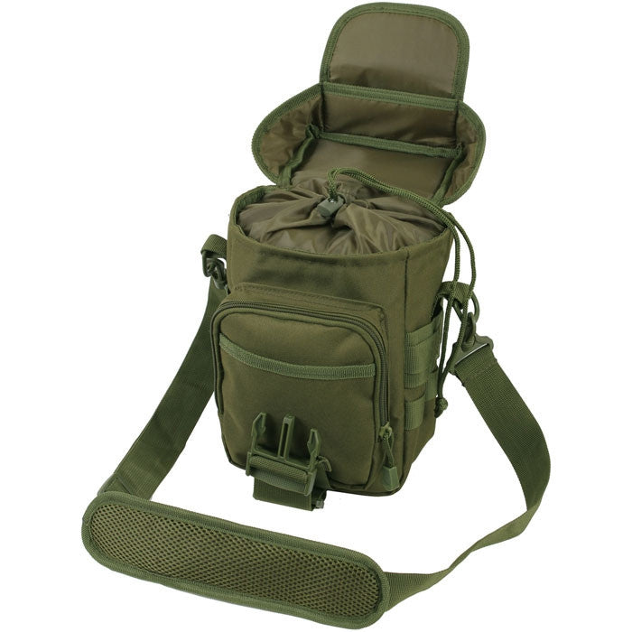 Olive Drab - Tactical MOLLE Shoulder Bag