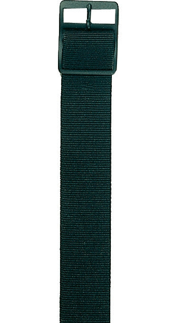 Black - Military Watch Band - Nylon