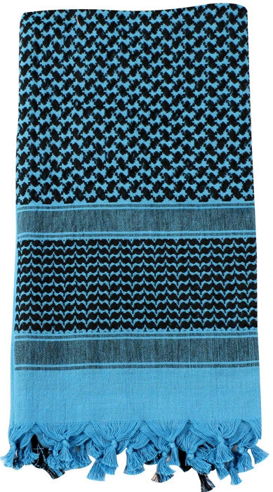 Blue   Black - Shemagh Tactical Desert Scarf
