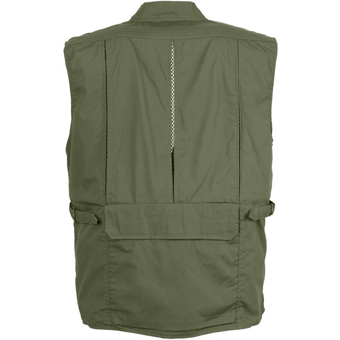 Concealed Safari Outback Carry Vest Olive Drab