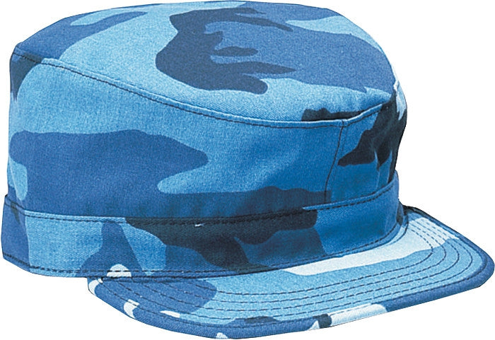 Sky Blue Camouflage - Military Fatigue Cap