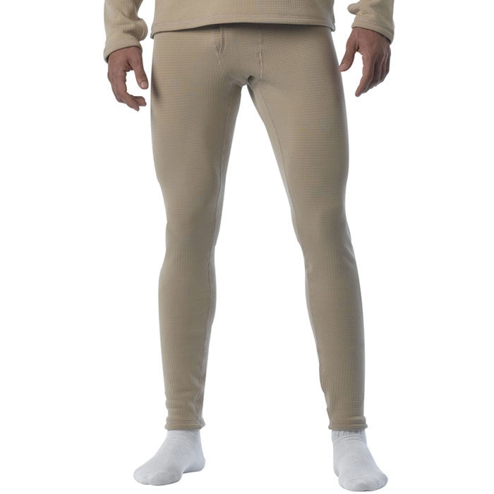 Sand - ECWCS Generation III Cold Weather Thermal Underwear Pants