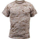 Digital Desert Camouflage - Kids Military T-Shirt